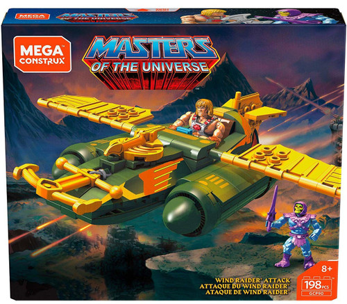 Mega Construx Masters of the Universe Wind Raider Attack Set