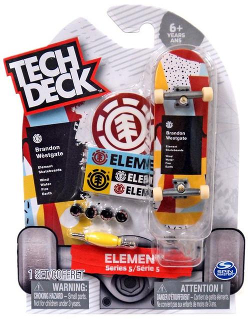 Tech Deck Series 5 Element 96mm Mini Skateboard