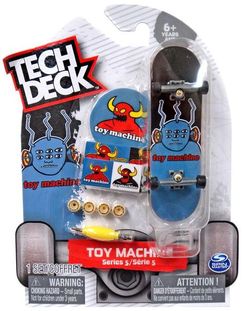 Tech Deck Series 5 Toy Machine 96mm Mini Skateboard