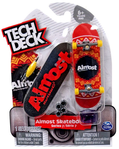 Tech Deck Series 7 Almost Skateboards 96mm Mini Skateboard