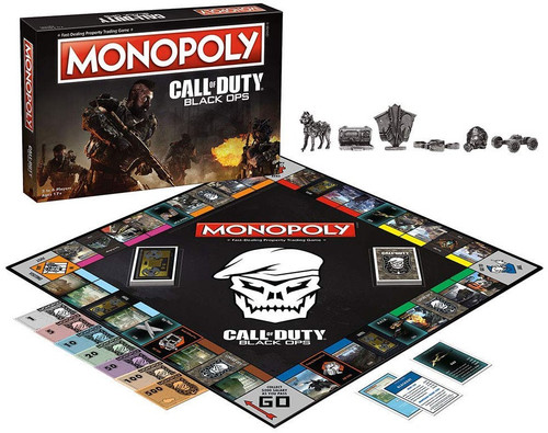 Monopoly Call of Duty Black Ops Board Game