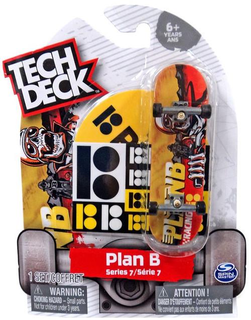 Tech Deck Series 7 Plan B 96mm Mini Skateboard [Plan B Racing]