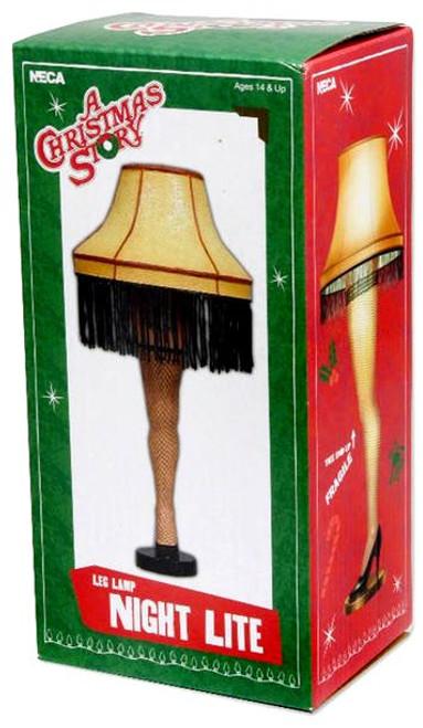 NECA A Christmas Story 5 Inch Leg Lamp Night Lite