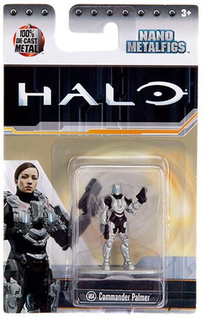 Halo Nano Metalfigs Commander Palmer Diecast Figure MS4