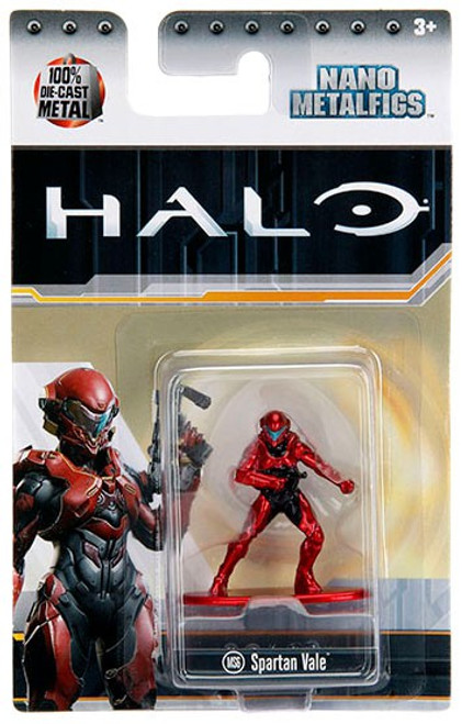Halo Nano Metalfigs Spartan Vale Diecast Figure MS6