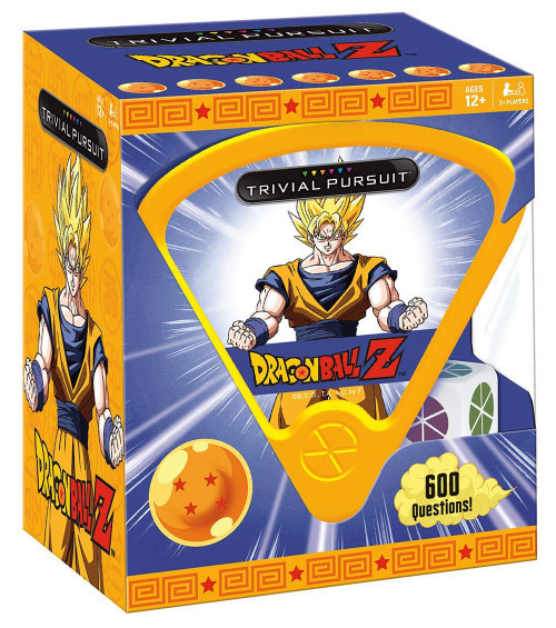 Trivial Pursuit Dragon Ball Z