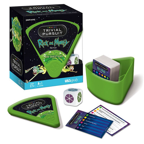 Trivial Pursuit Rick & Morty