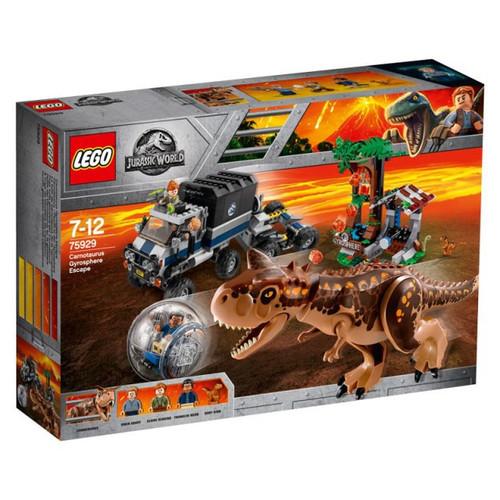 LEGO Jurassic World Carnotaurus Gyrosphere Escape Set #75929
