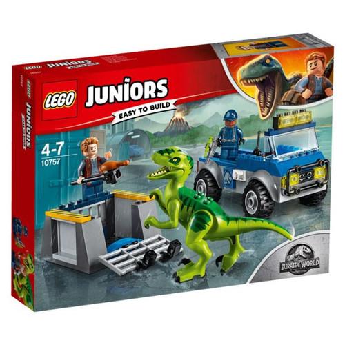 LEGO Jurassic World Raptor Rescue Truck Set #10757