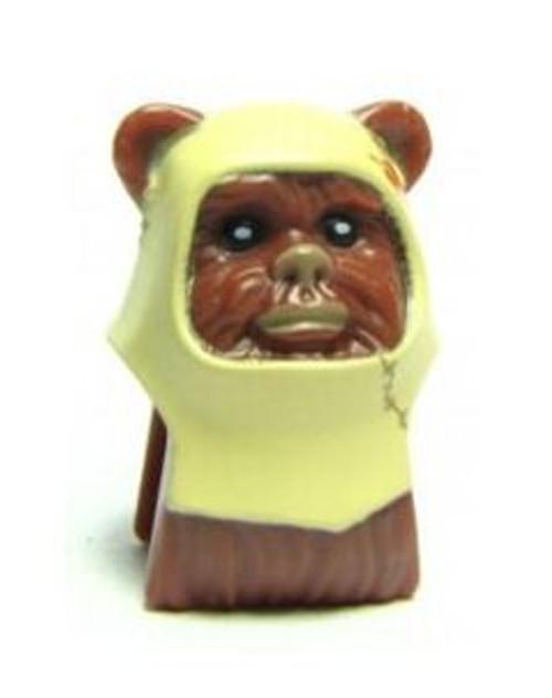 LEGO Star Wars Ewok with Tan Hood Minifigure Head [Loose]