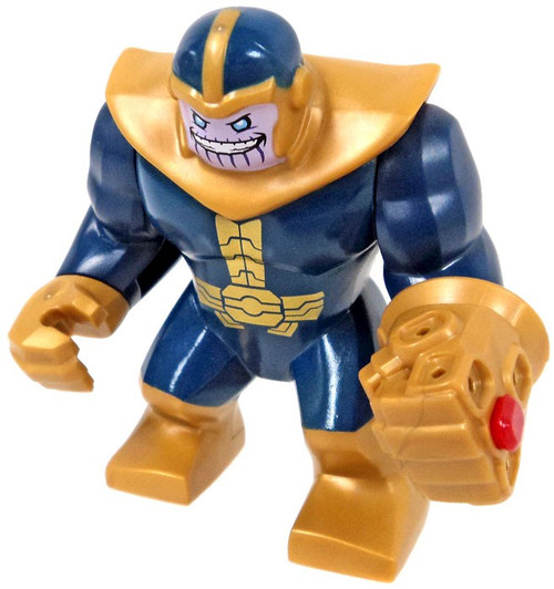 LEGO Marvel Thanos with Gauntlet Minifigure [Big Figure Loose]