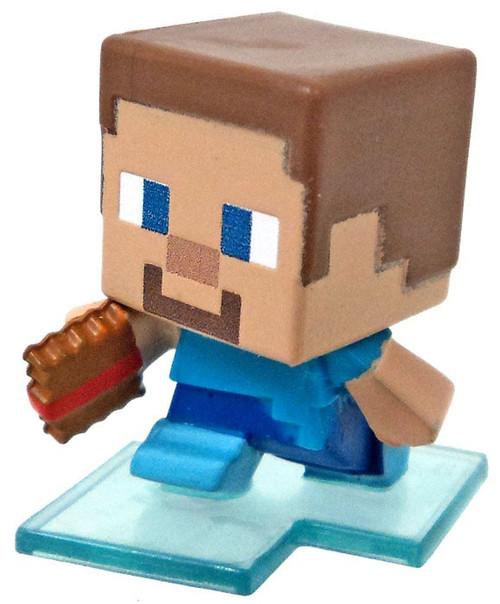Minecraft Wood Series 10 Steve with Frostwalker Boots Minifigure [Loose]