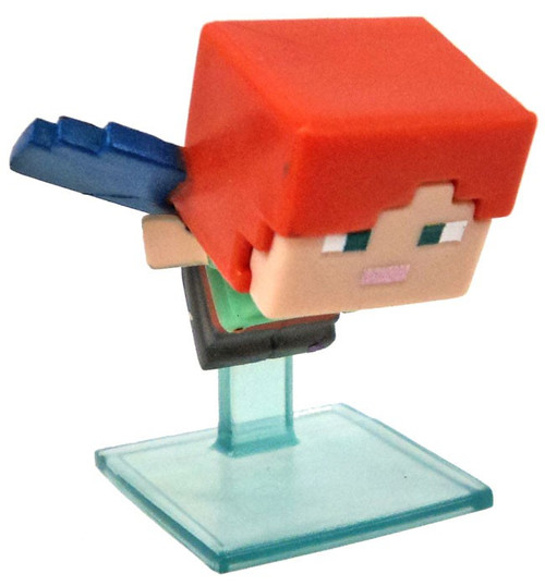 Minecraft Wood Series 10 Alex with Elytra Minifigure [Loose]