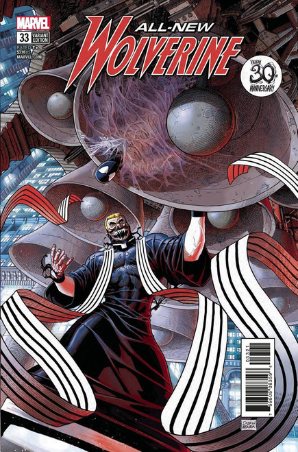 Marvel Comics All-New Wolverine #33 Comic Book [Weaver Venom 30th Variant Cover]