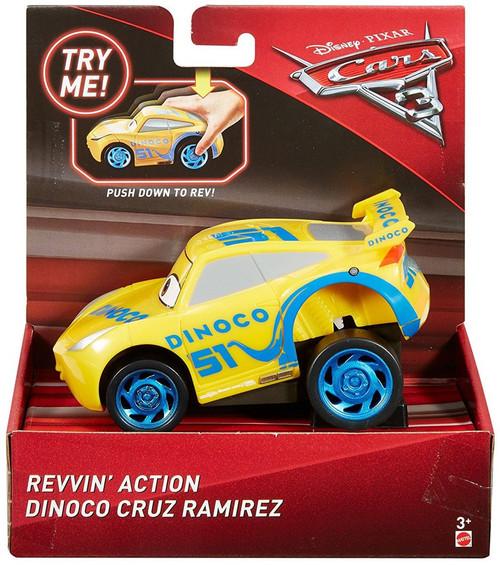 Disney / Pixar Cars Cars 3 Revvin' Action Dinoco Cruz Ramirez Vehicle