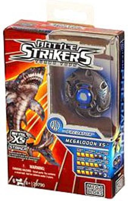 Mega Bloks Battle Strikers Metal XS2 Megalodon Set #29790