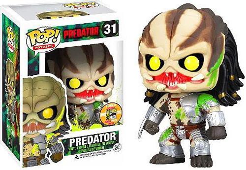 Funko POP! Movies Bloody Predator Exclusive Vinyl Figure #31