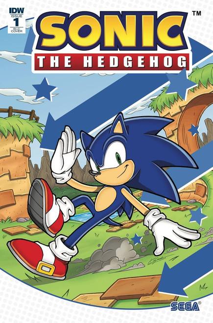 IDW Sonic The Hedgehog #1 Comic Book [Gates Incentive Cover RI-C]