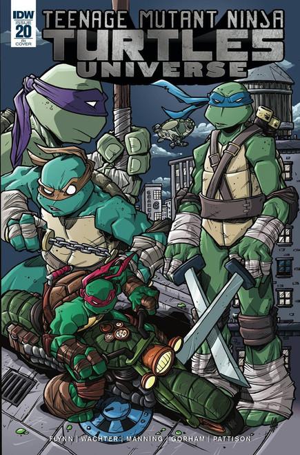IDW Teenage Mutant Ninja Turtles Universe #20 Comic Book [Lattie Incentive Cover RI]