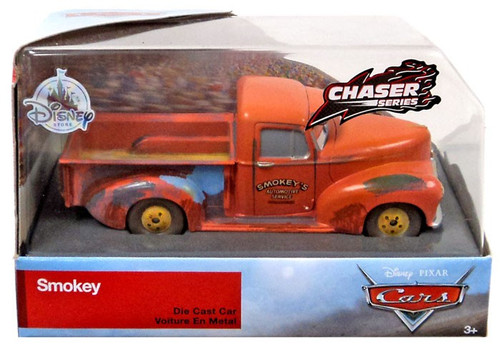 Disney / Pixar Cars Cars 3 Chaser Series Smokey Exclusive Diecast Car