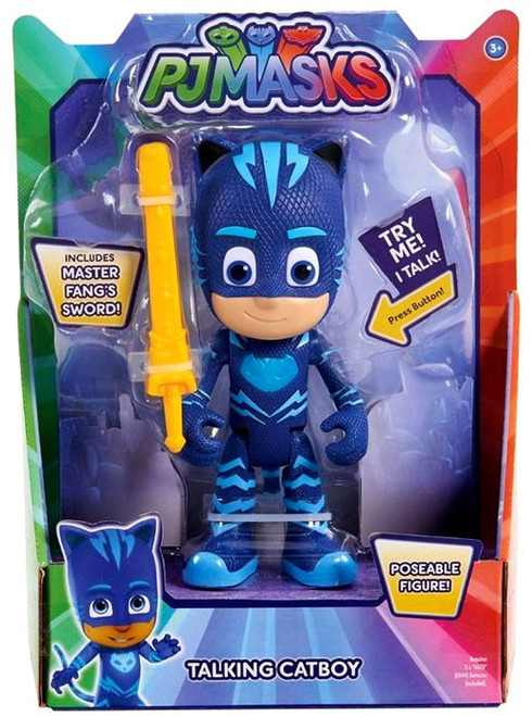 Disney Junior PJ Masks Catboy Talking Action Figure [with Master Fang's Sword]