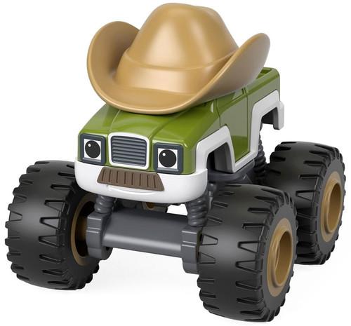 Fisher Price Blaze & the Monster Machines Nickelodeon Cowboy Truck Diecast Car
