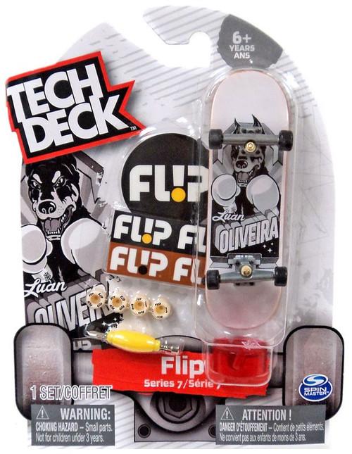 Tech Deck Series 7 Flip 96mm Mini Skateboard [Luan Oliveira]