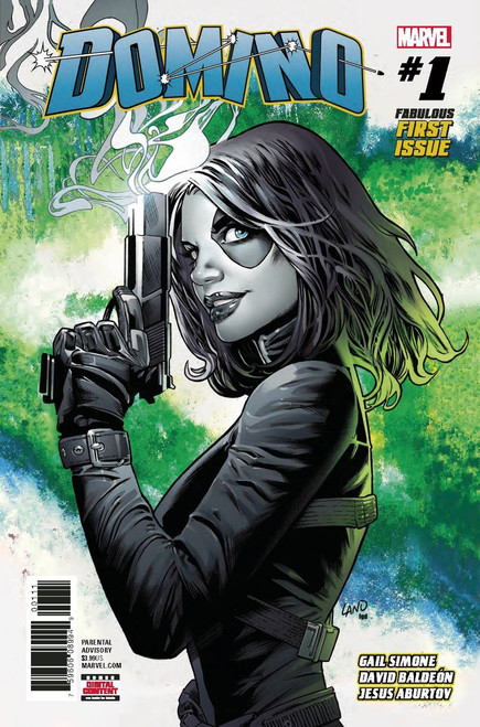 Marvel Comics Domino #1 Comic Book