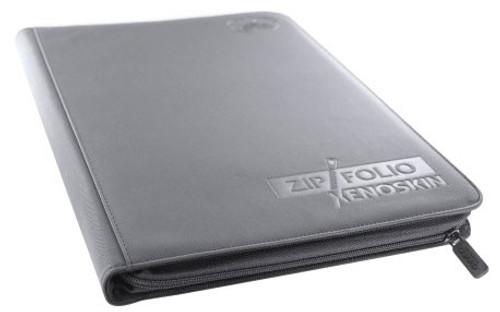 Zip Folio Xenoskin 9-Pocket Portfolio [Gray]