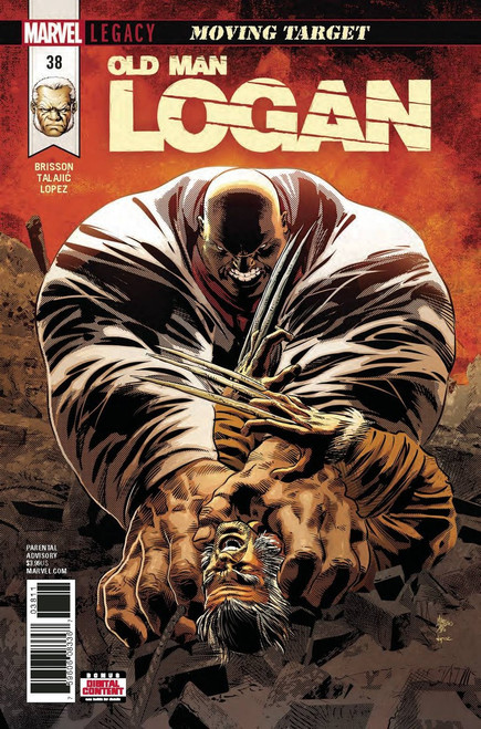 Marvel Comics Old Man Logan #38 Comic Book