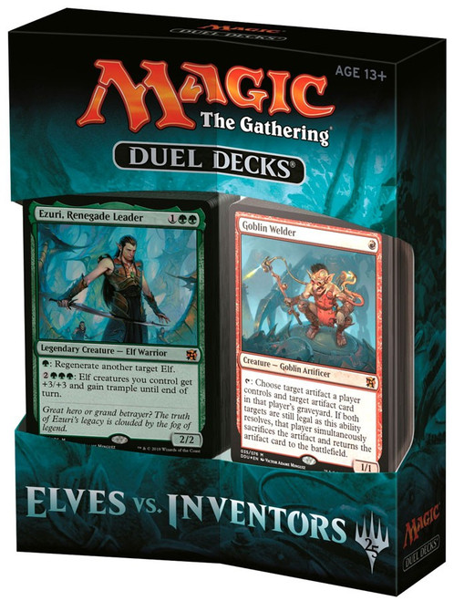 MtG Trading Card Game Elves vs. Inventors Duel Decks
