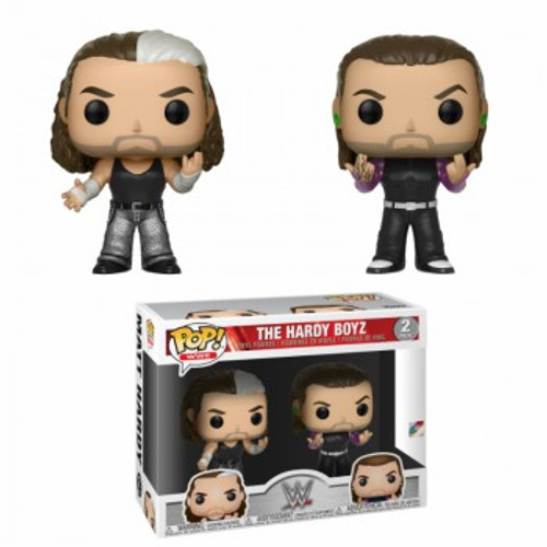 Funko WWE Wrestling POP! Sports Matt & Jeff Hardy Vinyl Figure 2-Pack [Hardy Boyz]