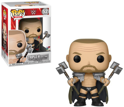Funko WWE Wrestling POP! Sports Triple H (Skull King) Vinyl Figure #52 [NO Headress, Regular Version]