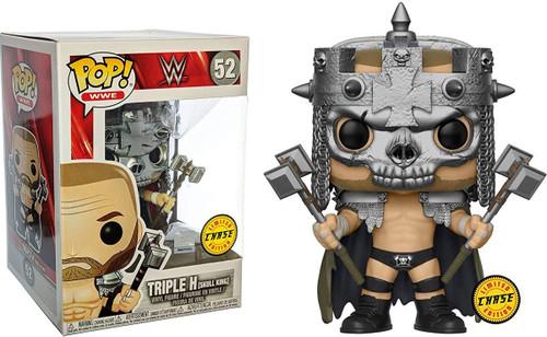 Funko WWE Wrestling POP! Sports Triple H (Skull King) Vinyl Figure #52 [Skull King Headdress, Chase Version]