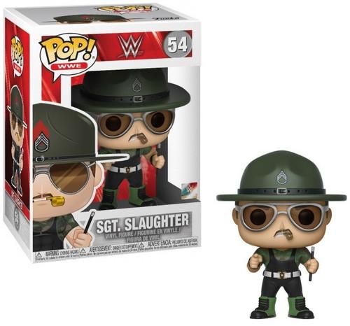 Funko WWE Wrestling POP! Sports Sgt. Slaughter Vinyl Figure