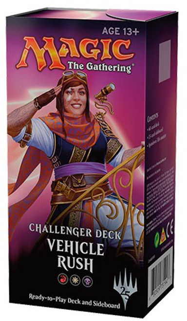 MtG Trading Card Game 2018 Vehicle Rush Challenger Deck