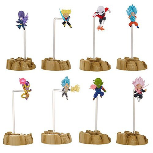 Dragon Ball Super Dragon Stars Nano 1.5-Inch Set of 4 Mini Figure 2-Packs