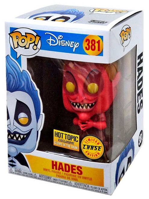 Funko Hercules POP! Disney Hades Exclusive Vinyl Figure #381 [Glow-in-the-Dark, Red Chase Version]