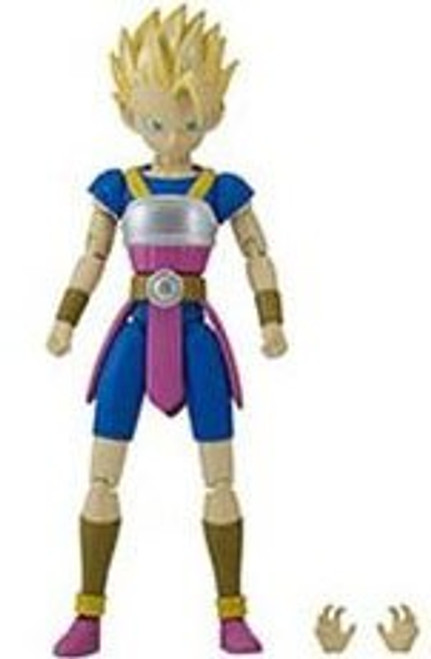 Dragon Ball Super Dragon Stars Series 5 Super Saiyan Cabba Action Figure [Kale Build-a-Figure]
