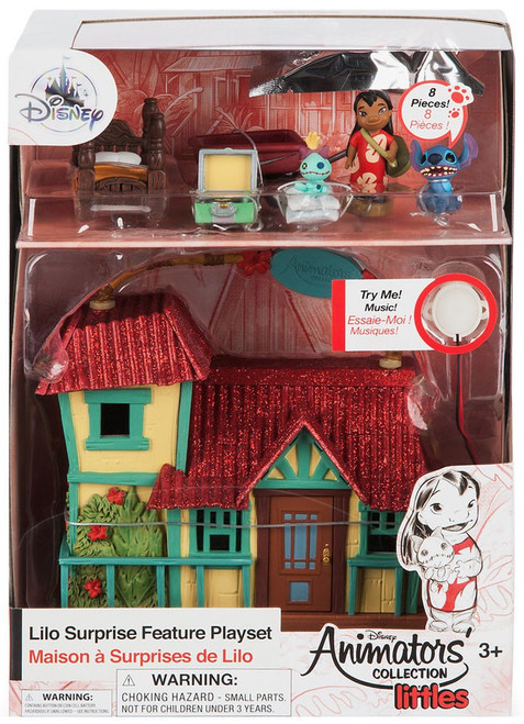 Disney Lilo & Stitch Littles Animators' Collection Lilo Surprise Feature Exclusive Micro Playset [2018]