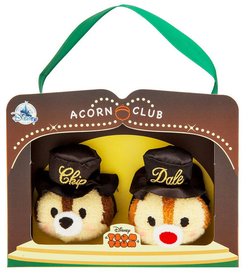 Disney Tsum Tsum Chip & Dale 75th Anniversary Acorn Club Exclusive Mini Plush 2-Pack [Chip & Dale]