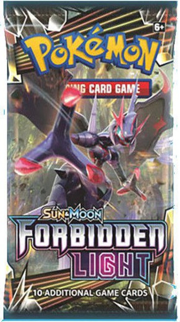 Pokemon Trading Card Game Sun & Moon Forbidden Light Booster Pack [10 Cards]