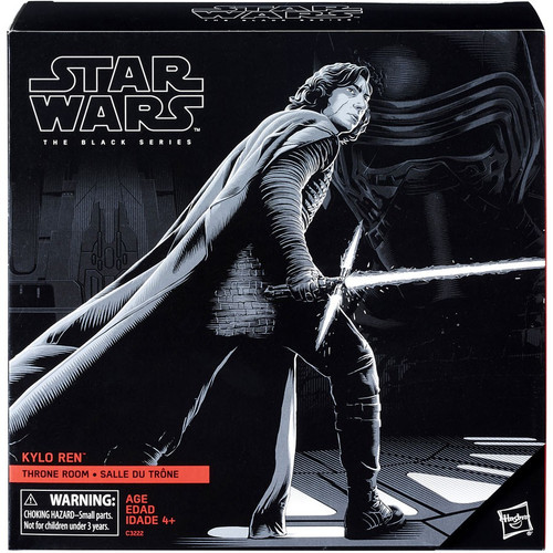 Star Wars The Last Jedi Black Series Kylo Ren Exclusive Action Figure [Throne Room]