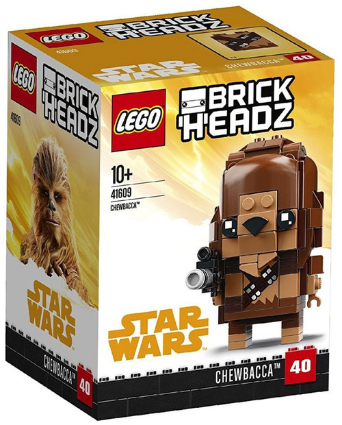 LEGO Star Wars Solo Brick Headz Chewbacca Set