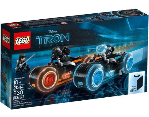 LEGO Disney Ideas Tron Legacy Exclusive Set #21314