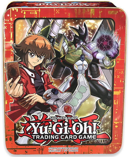 YuGiOh Trading Card Game 2018 Jaden Yuki Mega Tin Set [3 Booster Packs & Promo Card]