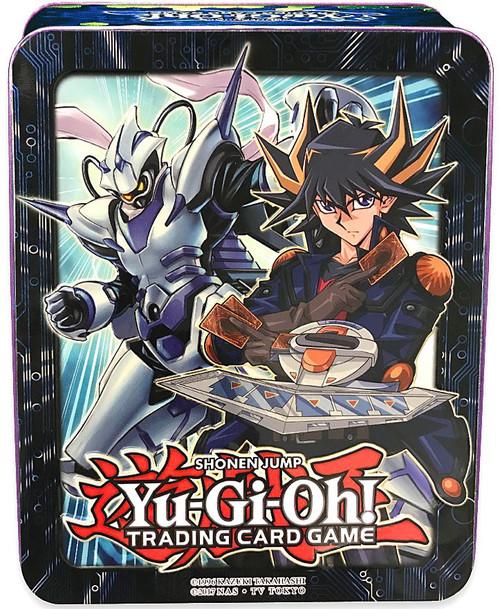 YuGiOh Trading Card Game 2018 Yusei Fudo Mega Tin Set [3 Booster Packs & Promo Card]