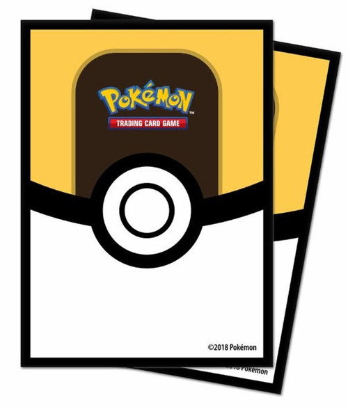 Ultra Pro Pokemon Trading Card Game Ultra Ball Card Sleeves [65 Count]