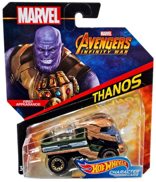 Hot Wheels Marvel Character Cars Thanos Die-Cast Car