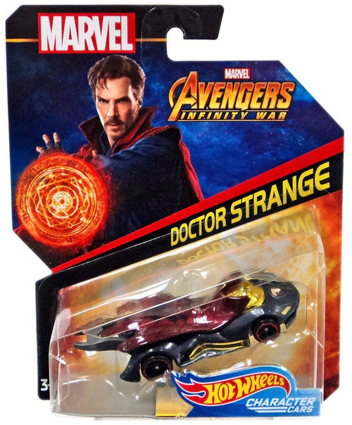 Hot Wheels Marvel Character Cars Doctor Strange Die-Cast Car